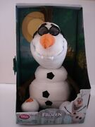 Disney Store Plush Stuffed Toy Olaf The Snowman From Disneyand039s Movie Frozen New
