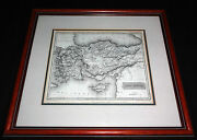 1817 British Framed Map Of Asia Minor - Drawn Arrowsmith/ Engraved S.y. Hall