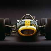 Lotus 34 Ford 1964 Front View By Rick Graves