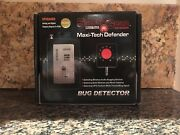 New Sleuth Gear Defender Maxi-tech Defender 10 Ghz Personal Bug Gps Detector