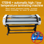 67in 1700mm Full-auto Take Up Large Format Hot/cold Laminator Laminating Machine