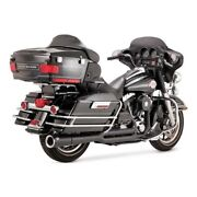 Vance And Hines 2-1 Pro - Pipe Black, For Harley - Davidson Touring 99-08