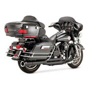 Vance And Hines 2-1 Pro - Pipe Black For Harley - Davidson Touring 99-08