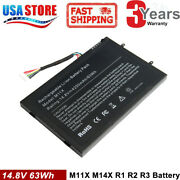 Battery For Dell Alienware M11x M14x R1 R2 Pt6v8 Kr-08p6x6 T7yjr P06t Cool