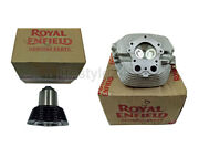 Royal Enfield Gt Continental 535 Cylinder Head And Barrel With Piston Assembly