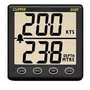 Clipper Duet Instrument Depth Speed Log With Transducer Cl-ds