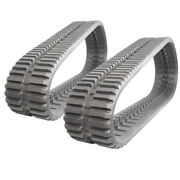Pair Of Prowler Rubber Tracks For John Deere Ct319d At Tread - 320x86x52 - 13