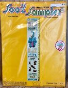 Vintage Soo-z Sampler Cross Stitch Kit S110 Grow Chart Collectible