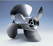 Volvo Penta F4 Duo Prop Stainless Steel Propeller Set 3851494 For Dps Drive New