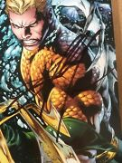 Aquaman 1 New 52 First Print Signed By Jason Momoa Dc Autograph Comic Book Vgc