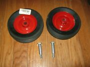 Wheel Horse Hd Deck Wheels With Shoulder Bolts 110506 5188