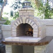 Outdoor Fireplace Kits Or Outdoor Pizza Oven Kits Build A Backyard Pizza Oven