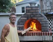 Torn Between A Home Pizza Oven And Outdoor Fireplace Kit Get The Best Of Both