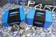Supertech Pistons And Rods For 99-00 Honda Civic Si B16 81.5mm Bore 9.01 Comp