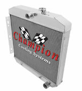 4 Row Best Cooling Champion Radiator For 1955 1956 Chevrolet Bel Air