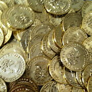 2000 Halloween Pirate Gold Play Toy Coins Birthday Party Favor Pinata Money Coin