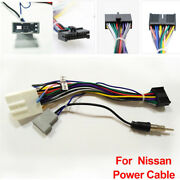 Car Stereo 20pin Wiring Harness Connector Adapter Android Power Cable For Nissan