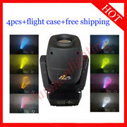 230w Led Beam Spot Wash 3 In 1 Moving Head Dj Stage Wash Light 4pcs With Case