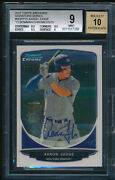 Aaron Judge 2017 Topps Archives 2013 Bowman Chrome /25 Rc Bgs 9 W/9.5 Auto 10