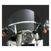 N.cycles Switchblade Chopped Windshield, Tinted For Harley-davidson Flst 86-17