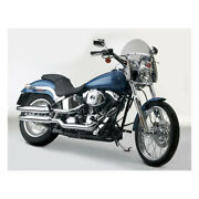 N.c Switchblade Shorty Windshield Tinted For Harley Davidson Fxsb Fxdwg 06-17