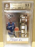 10-11 2010-11 Totally Certified Gold John Wall Rd Patch Auto Rc /25 Bgs 9.5 Gem