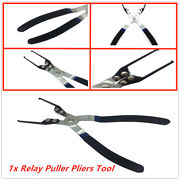 1x Relay Fuse Puller Tool Pliers,thin Tips And Offset Handles Are Easier To Use.