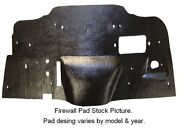 1974 Datsun 260z Firewall Pad With Ultra High Definition Rubber