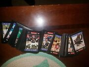 Lot Of 120 1996 Sportscall Football Cards-rare Nfl Players Mix Phone Card Htf