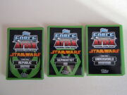Star Wars Force Attax Topps 2014 Trading Card Variants E6