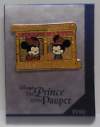 Disney Ds 30th Anniversary Pin Series Week 1 The And The Pauper Pin