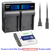 Kastar Battery Lcd Rapid Charger For Sony Np-bd1 Bc-csd Dsc-t200 Digital Camera