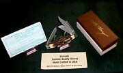 Schrade 886uh Knife Sfo Uncle Henry S.c.c + Usa Circa-1982 W/packaging,papers
