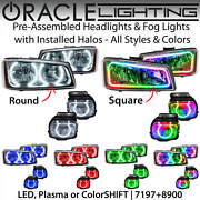 Oracle Halo Headlights And Fog Lights For 03-06 Chevrolet Silverado All Colors
