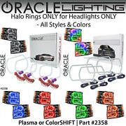 Oracle Square Halo Rings Kit For Headlights For 07-13 Chevy Silverado Colors