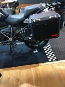 R1200gs R1250gs Oem Black Luggage Pannier Kit With Carrier Racks And Locks Every