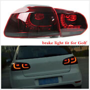Pair Led Brake Rear Tail Lights Lamp For Germany Car 2010-2014 Years
