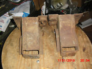 1966-69 Lincoln Continental Rear Bumper Brackets-good Used