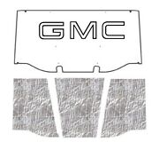 1969 1970 Gmc Truck Under Hood Cover With G-001 Gmc