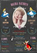 Baptism Christening Communion Religious Personalised Party Banner Backdrop