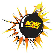 Looney Tunes Acme Corporation Bomb Collectible Mens Polo Xs-6xl, Lt-4xlt New