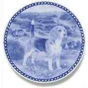 Beagle - Dog Plate Made In Denmark From The Finest European Porcelain