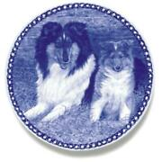 Collie - Rough - Dog Plate Made In Denmark From The Finest European Porcelain