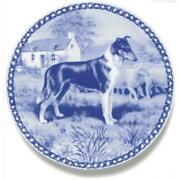 Collie - Smooth Tricolour - Dog Plate Made In Denmark From The Finest European P