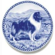 Collie - Rough Blue Merle - Dog Plate Made In Denmark From The Finest European P