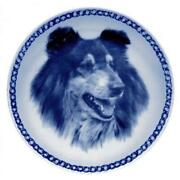 Collie - Rough Tricolour - Dog Plate Made In Denmark From The Finest European Po