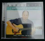 Super Hits Christopher Cross Live Cd Hard To Find Factory Sealed