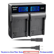 Kastar Battery Lcd Rapid Charger For Sony Np-fh100 And Dcr-sx40 Dcr-sx41 Dcr-sx50