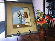 Bugs Bunny Hand Painted Hand Signed Limited Edition Animation Cel Phoney Bunny