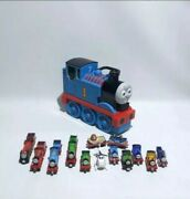 Thomas The Train Diecast Train Collection With Take Along Carriying Case.